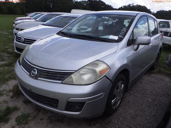 8-07134 (Cars-Sedan 4D)  Seller:Private/Dealer 2009 NISS VERSA