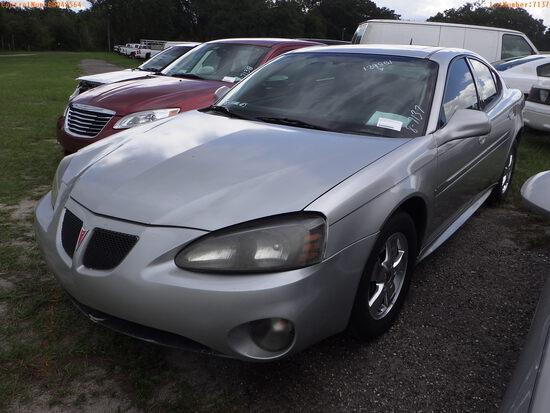 8-07137 (Cars-Sedan 4D)  Seller:Private/Dealer 2006 PONT GRANDPRIX