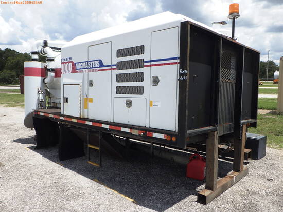 10-48440 (Equip.-Sewer cleaner)  Seller:Private/Dealer VACMASTERS S4000 VACCUM E
