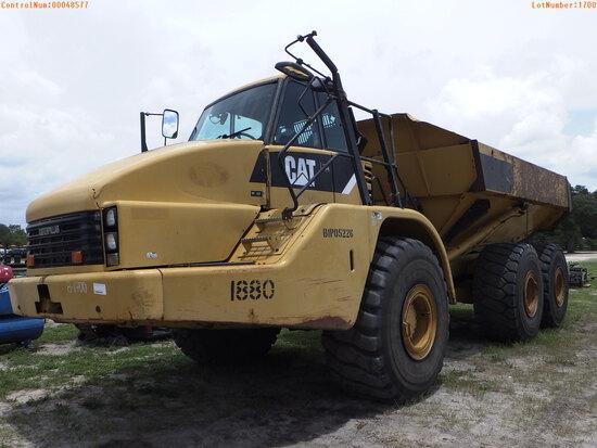 10-48577 (Equip.-End dump)  Seller:Private/Dealer CATERPILLAR 740 OFF ROAD END D