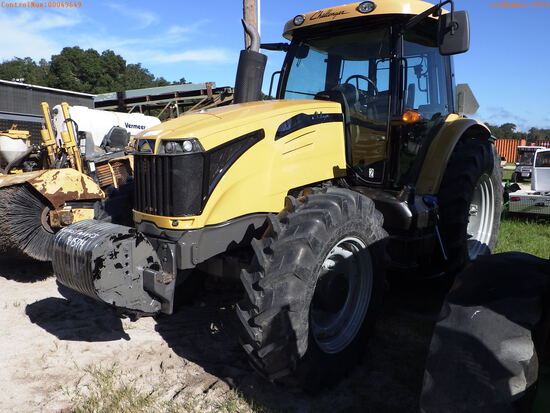 10-49649 (Equip.-Tractor)  Seller:Private/Dealer AGCO CHALLENGER MT545D 4WD CAB