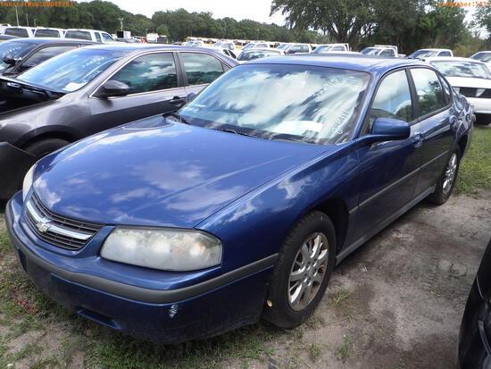 10-05124 (Cars-Sedan 4D)  Seller: Florida State P.D. 05 2005 CHEV IMPALA
