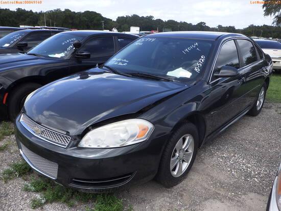 10-05120 (Cars-Sedan 4D)  Seller: Gov-Hillsborough County Sheriff-s 2012 CHEV IM
