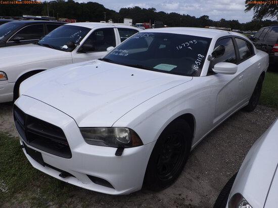 10-05118 (Cars-Sedan 4D)  Seller: Gov-Hillsborough County Sheriff-s 2012 DODG CH