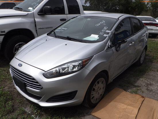 10-05110 (Cars-Sedan 4D)  Seller: Florida State B.P.R. 2014 FORD FIESTA