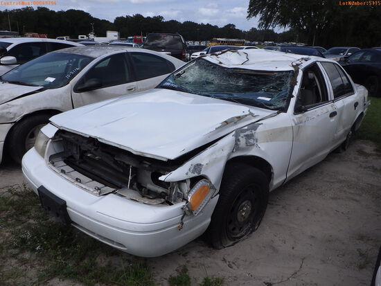 10-05115 (Cars-Sedan 4D)  Seller: Florida State A.C.S. 2007 FORD CROWNVIC