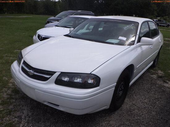 10-07124 (Cars-Sedan 4D)  Seller:Private/Dealer 2005 CHEV IMPALA