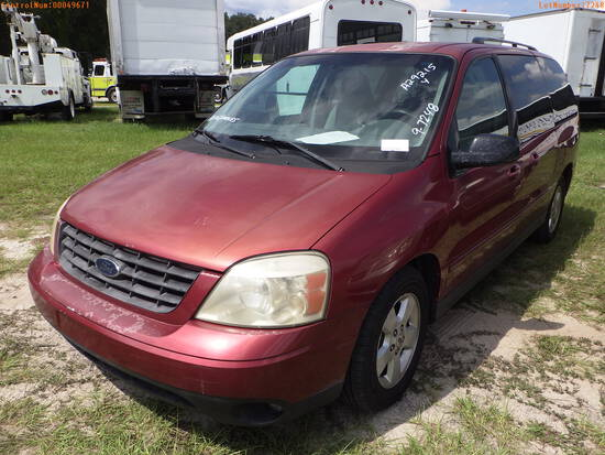 10-07118 (Cars-Van 4D)  Seller:Private/Dealer 2004 FORD FREESTYLE