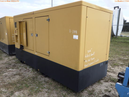 11-01144 (Equip.-Generator)  Seller: Gov-Hillsborough County Sheriff-s HIMOINSA