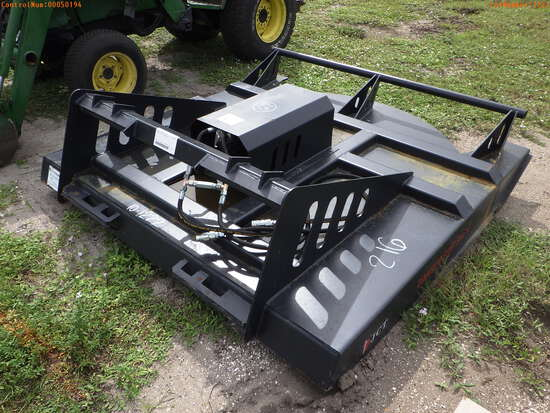 11-01114 (Equip.-Implement- misc.)  Seller:Private/Dealer JCT BRUSH MOWER SKID S