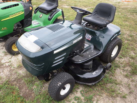 11-02122 (Equip.-Mower)  Seller:Private/Dealer CRAFTSMAN 917270812 42 INCH RIDIN