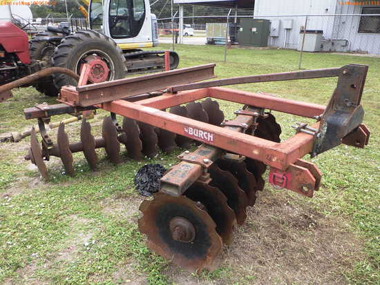 11-01118 (Equip.-Implement- Farm)  Seller:Private/Dealer BURCH 3PT HITCH DISK HA