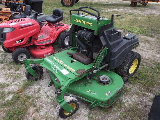 11-02130 (Equip.-Mower)  Seller:Private/Dealer JOHN DEERE 60 INCH STAND UP RIDIN