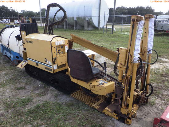 11-01140 (Equip.-Drilling)  Seller:Private/Dealer VERMEER D7X11A TRACK DIRECTION
