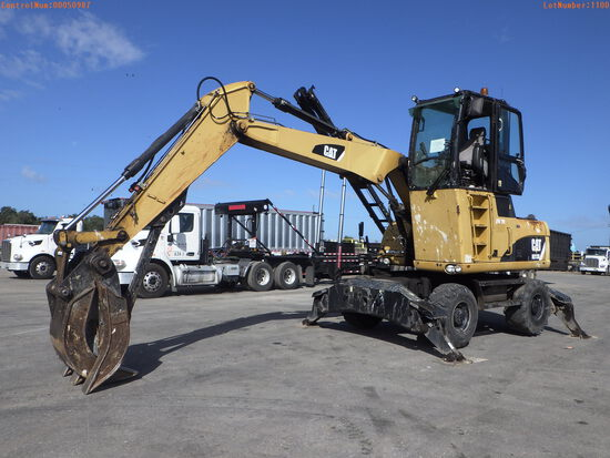 11-01100 (Equip.-Excavator)  Seller: Gov-Hillsborough County B.O.C.C. CAT M313D