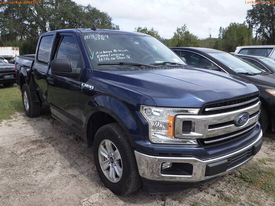 11-05128 (Trucks-Pickup 4D)  Seller: Gov-Hillsborough County Sheriff-s 2019 FORD