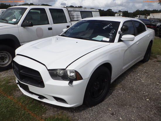 11-05123 (Cars-Sedan 4D)  Seller: Gov-Hillsborough County Sheriff-s 2013 DODG CH