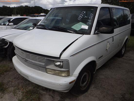 11-05117 (Cars-Van 3D)  Seller: Florida State D.J.J. 2000 CHEV ASTRO