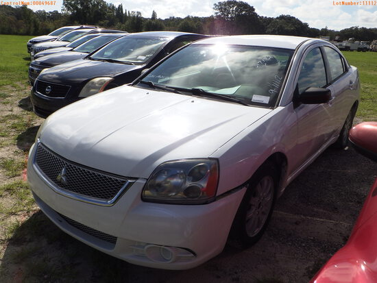 11-49687 (Cars-Sedan 4D)  Seller:Private/Dealer 2012 MITS GALANT