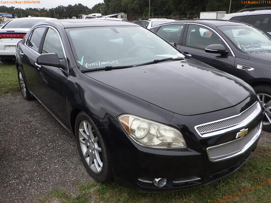 11-07118 (Cars-Sedan 4D)  Seller:Private/Dealer 2012 CHEV MALIBU