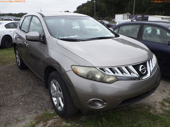 11-07113 (Cars-SUV 4D)  Seller:Private/Dealer 2009 NISS MURANO