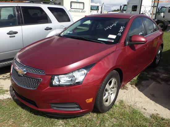 11-50125 (Cars-Sedan 4D)  Seller:Private/Dealer 2012 CHEV CRUZE