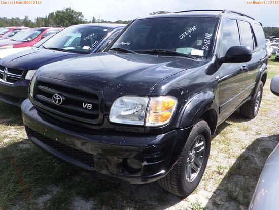 11-50133 (Cars-SUV 4D)  Seller:Private/Dealer 2001 TOYT SEQUOIA