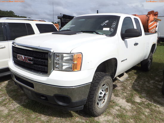 11-50203 (Trucks-Pickup 2D)  Seller:Private/Dealer 2013 GMC 2500HD
