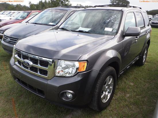 11-50342 (Cars-SUV 4D)  Seller:Private/Dealer 2010 FORD ESCAPE