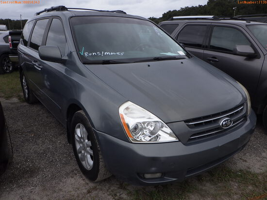 11-07130 (Cars-Van 4D)  Seller:Private/Dealer 2006 KIA SEDONA