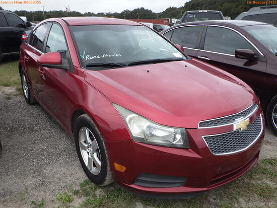 11-07132 (Cars-Sedan 4D)  Seller:Private/Dealer 2012 CHEV CRUZE