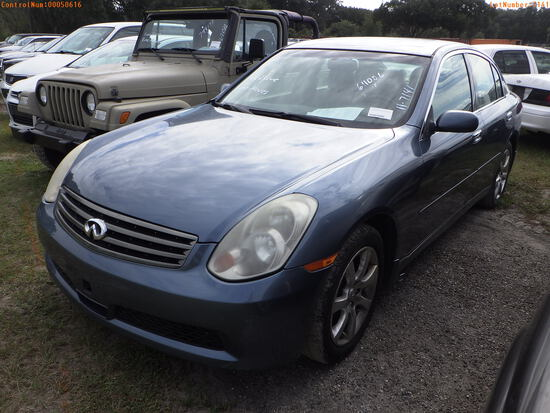 11-07141 (Cars-Sedan 4D)  Seller:Private/Dealer 2006 INFI G35