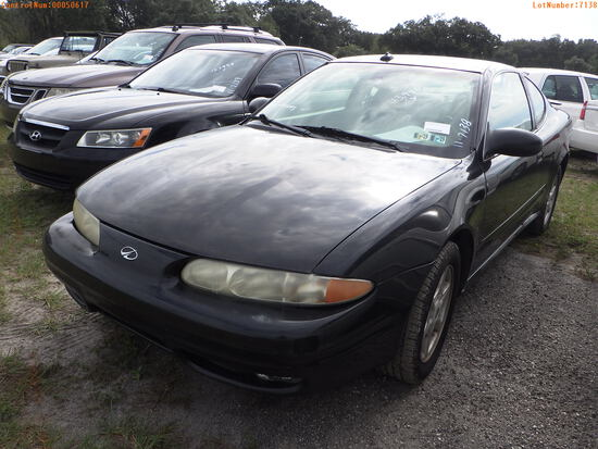 11-07138 (Cars-Coupe 2D)  Seller:Private/Dealer 2003 OLDS ALERO