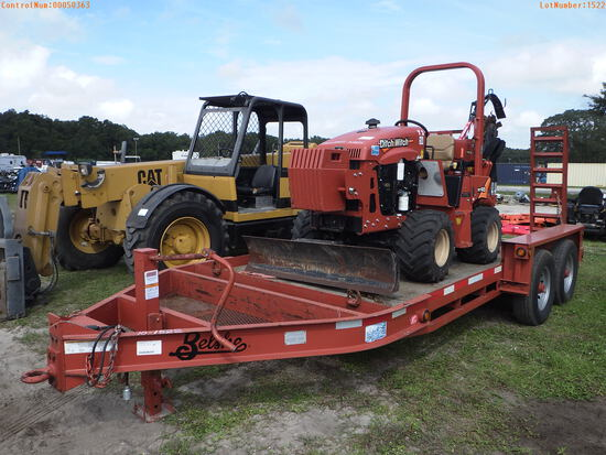 12-50363 (Equip.-Trencher)  Seller:Private/Dealer DITCH WITCH RT45 RIDING TRENCH