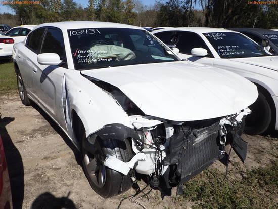 12-05116 (Cars-Sedan 4D)  Seller: Gov-Hillsborough County Sheriff-s 2019 DODG CH