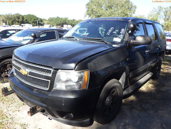 12-05110 (Cars-SUV 4D)  Seller: Florida State F.H.P. 2012 CHEV TAHOE