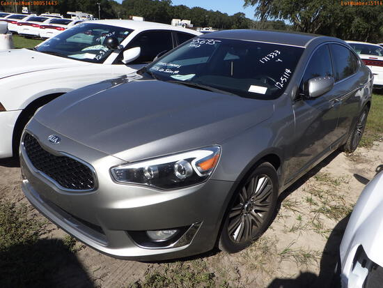 12-05114 (Cars-Sedan 4D)  Seller: Gov-Hillsborough County Sheriff-s 2015 KIA CAD