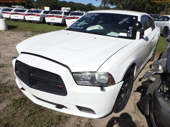 12-05115 (Cars-Sedan 4D)  Seller: Gov-Hillsborough County Sheriff-s 2013 DODG CH