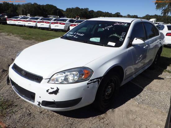 12-05121 (Cars-Sedan 4D)  Seller: Gov-Orange County Sheriffs Office 2012 CHEV IM
