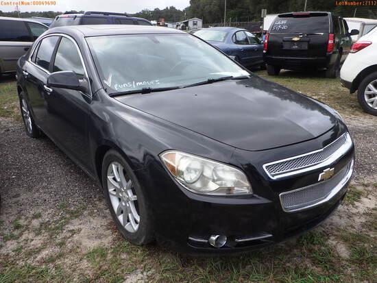 12-07112 (Cars-Sedan 4D)  Seller:Private/Dealer 2012 CHEV MALIBU