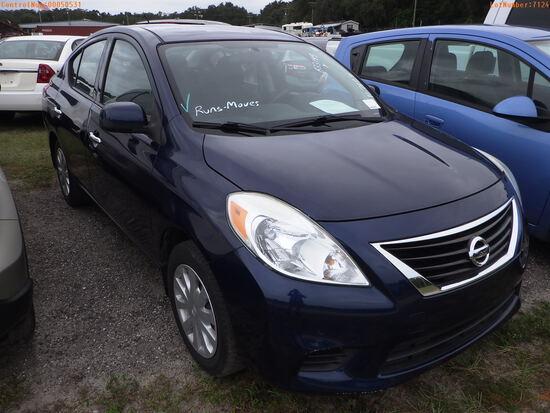 12-50531 (Cars-Sedan 4D)  Seller:Private/Dealer 2014 NISS VERSA