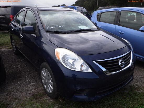 12-07117 (Cars-Sedan 4D)  Seller:Private/Dealer 2014 NISS VERSA