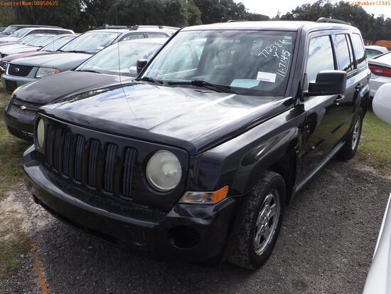 12-50625 (Cars-SUV 4D)  Seller:Private/Dealer 2008 JEEP PATRIOT