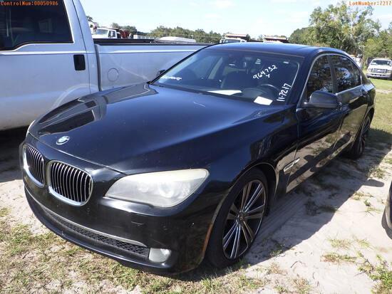 12-50986 (Cars-Sedan 4D)  Seller:Private/Dealer 2012 BMW 750LI