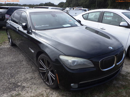 12-07126 (Cars-Sedan 4D)  Seller:Private/Dealer 2012 BMW 750LI