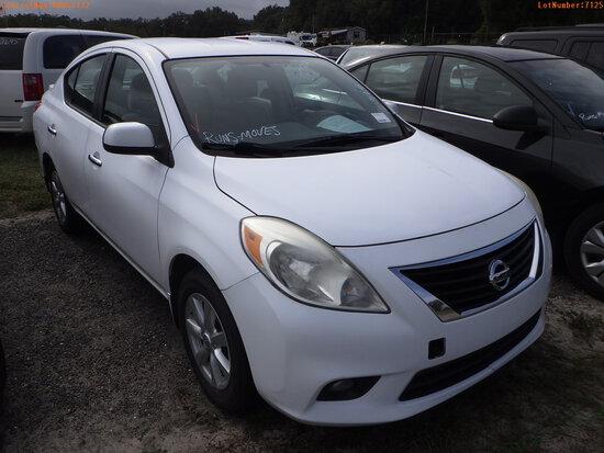 12-07125 (Cars-Sedan 4D)  Seller:Private/Dealer 2013 NISS VERSA