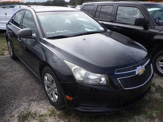 12-07124 (Cars-Sedan 4D)  Seller:Private/Dealer 2012 CHEV CRUZE