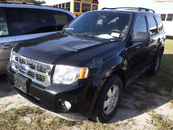 12-51288 (Cars-SUV 4D)  Seller:Private/Dealer 2012 FORD ESCAPE