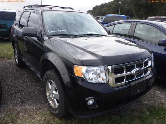 12-07118 (Cars-SUV 4D)  Seller:Private/Dealer 2012 FORD ESCAPE