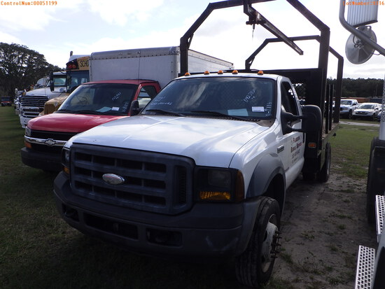 12-51199 (Trucks-Flatbed)  Seller:Private/Dealer 2006 FORD F450SD